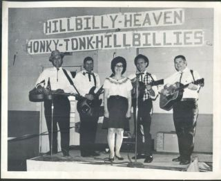 Honky Tonk Hillbillies Promo Photo,  1960
