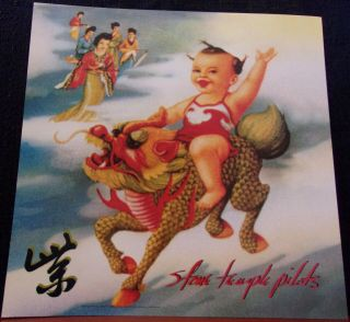Stone Temple Pilots - Stp - Purple - Album Art Poster Flat - 12x12 - 2 Sided Promo