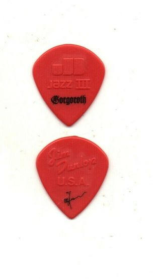 (( (gorgoroth)) ) Guitar Pick Picks Plectrum Very Rare 1