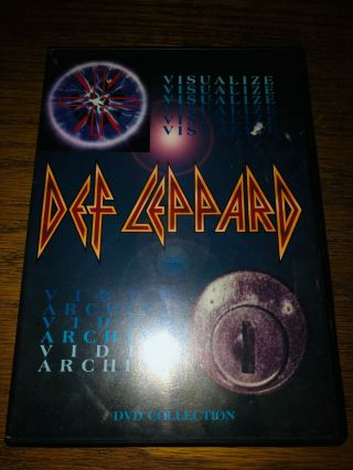 Def Leppard - Visualize/video Archive Dvd