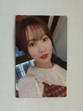 Official Yuju Gfriend Time For Us Photocard Photo Card Daytime Midnight Daybreak