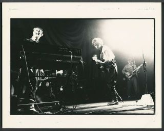 Photo Julian Cope The Teardrop Explodes Post - Punk/neo - Psychedelic Band