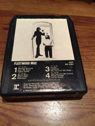Fleetwood Mac/ Rumours 1977 Warner Brothers Records 8 Track Tape