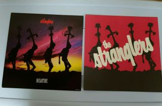 """The Stranglers Dreamtime 12 """" X 12 """" Lp - Sized Promotional Poster Flats Set 1987"""