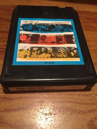 The Police/ The Police Synchronicity 1983 A & M Records 8 Track Tape