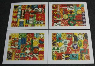 Woodstock: Back To The Garden Dale Saltzman Woodstock 4 Poster Set Lithograph Le