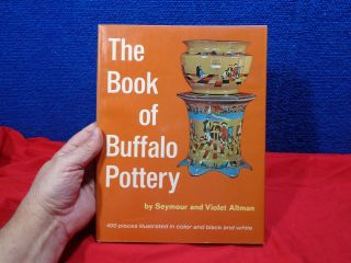 Antique Deldare Ware Buffalo Pottery Book